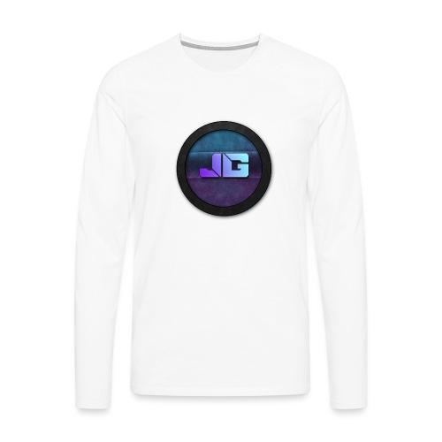 Vrouwen shirt met logo - Mannen Premium shirt met lange mouwen