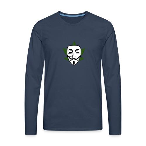 Anonymous - Mannen Premium shirt met lange mouwen