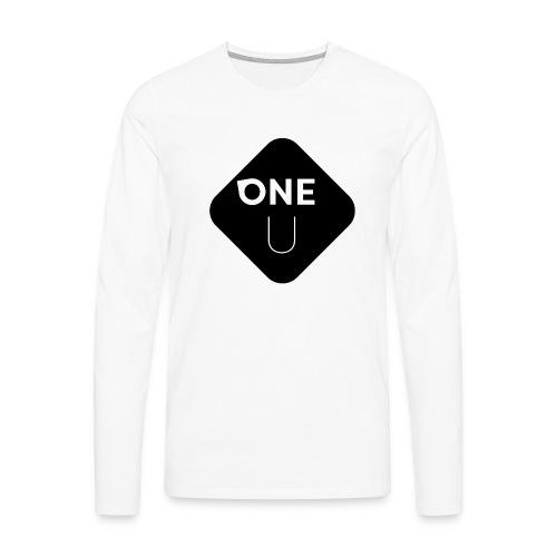 One U - Bottom - Långärmad premium-T-shirt herr