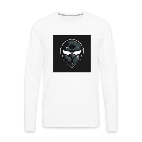 LogoMain2 - Herre premium T-shirt med lange ærmer