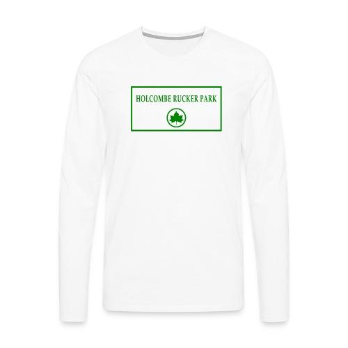 RuckerPark - Maglietta Premium a manica lunga da uomo