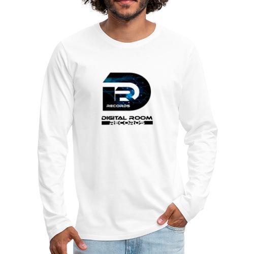 Digital Room Records Official Logo effect - Men's Premium Longsleeve Shirt