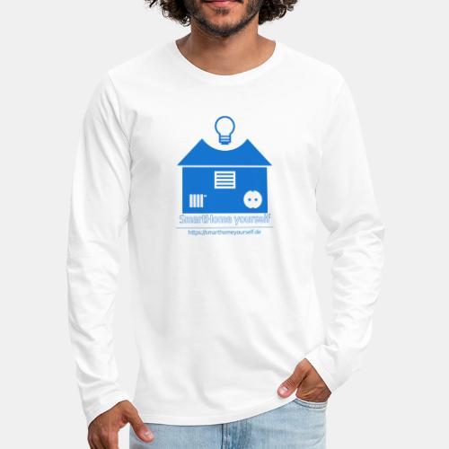 SmartHome yourself Logo Groß - Männer Premium Langarmshirt