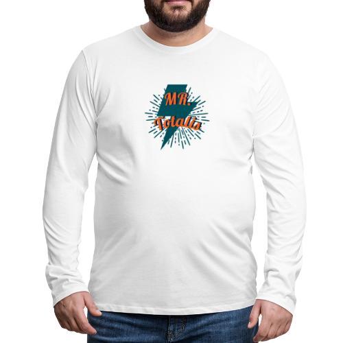 Esempio Logo o Stampa! - Maglietta Premium a manica lunga da uomo
