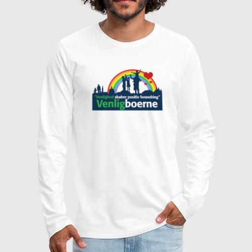 tshirtlogo png - Herre premium T-shirt med lange ærmer