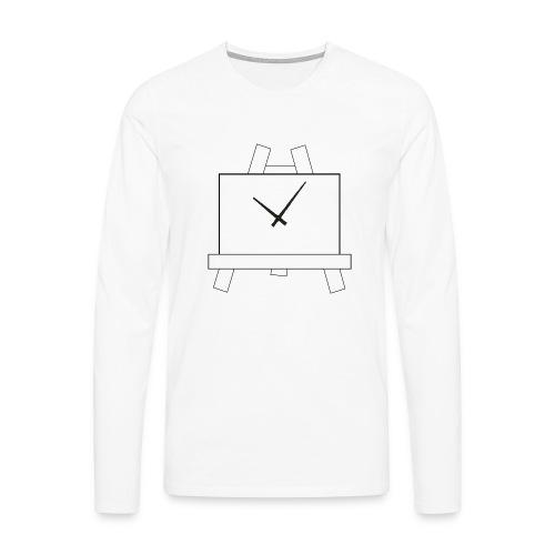 Time 4 Art - Mannen Premium shirt met lange mouwen