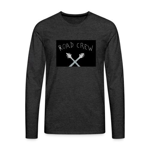 Road_Crew_Guitars_Crossed - Men's Premium Longsleeve Shirt