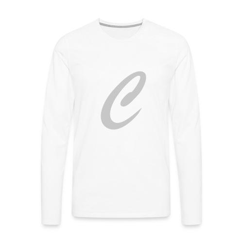 cornerc - Herre premium T-shirt med lange ærmer