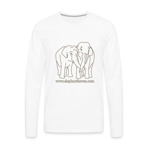 Elephants - Men's Premium Longsleeve Shirt
