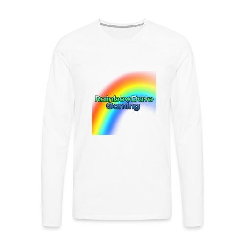 RainbowDave Gaming Logo - Men's Premium Longsleeve Shirt