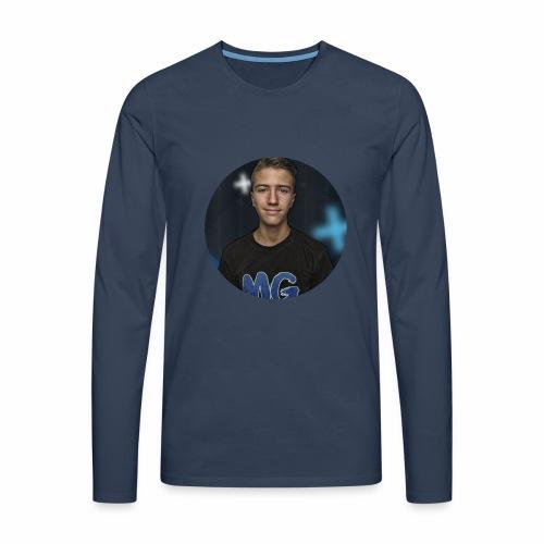 Design blala - Mannen Premium shirt met lange mouwen