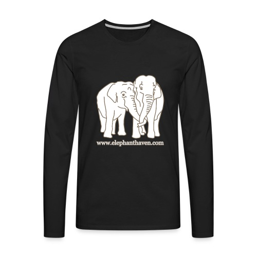 Elephants - Men's Premium Longsleeve Shirt