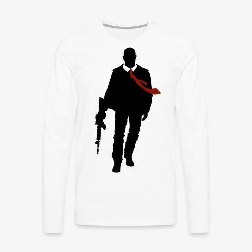 PREMIUM SO GEEEK HERO - MINIMALIST DESIGN - T-shirt manches longues Premium Homme