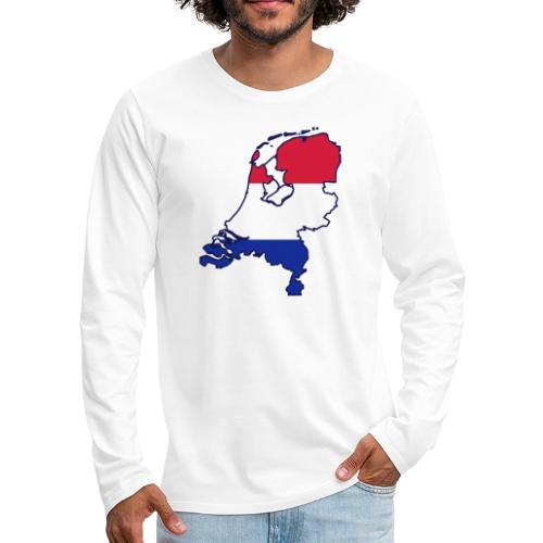 holland - Mannen Premium shirt met lange mouwen