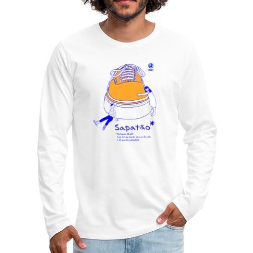 Sapatão - Camiseta de manga larga premium hombre
