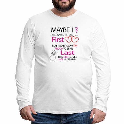 Ich liebe meinen Mann - Geschenkidee - Men's Premium Longsleeve Shirt