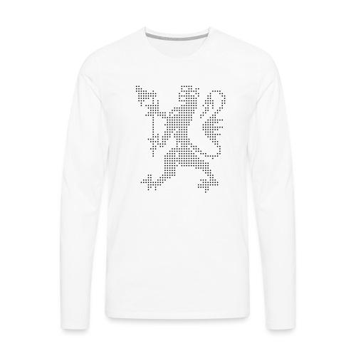 Den norske løve - Premium langermet T-skjorte for menn