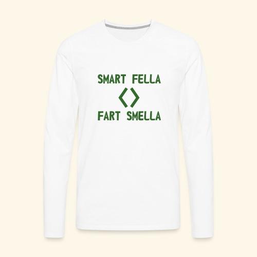 Smart fella - Maglietta Premium a manica lunga da uomo