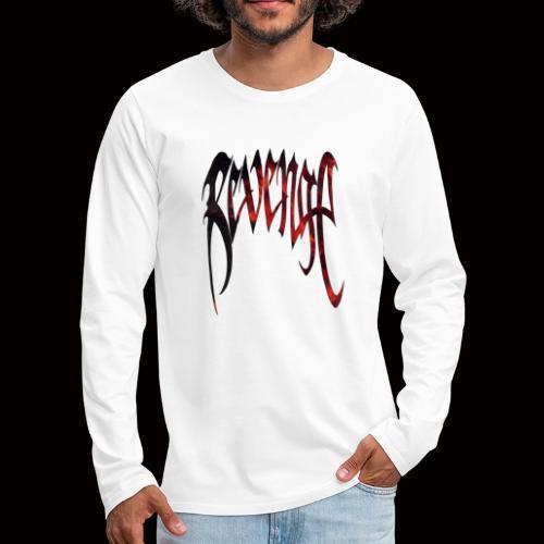 RVENGE - Långärmad premium-T-shirt herr