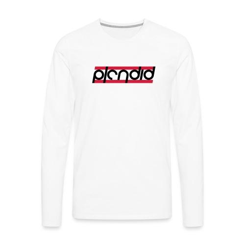 Plendid logo - Långärmad premium-T-shirt herr
