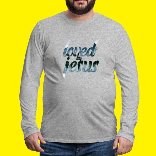 LOVED BY JESUS - Men's Premium Longsleeve Shirt