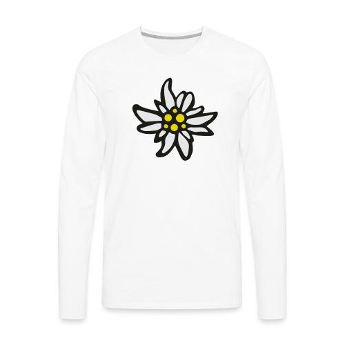Edelweiss - Männer Premium Langarmshirt