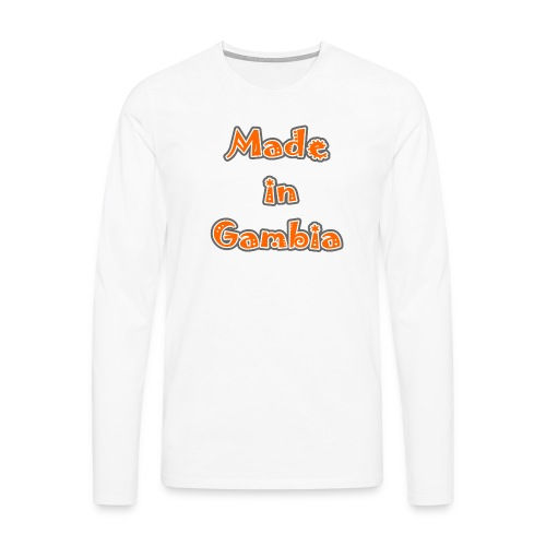 Made in Gambia - Men's Premium Longsleeve Shirt