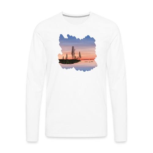 Été en Laponie - T-shirt manches longues Premium Homme