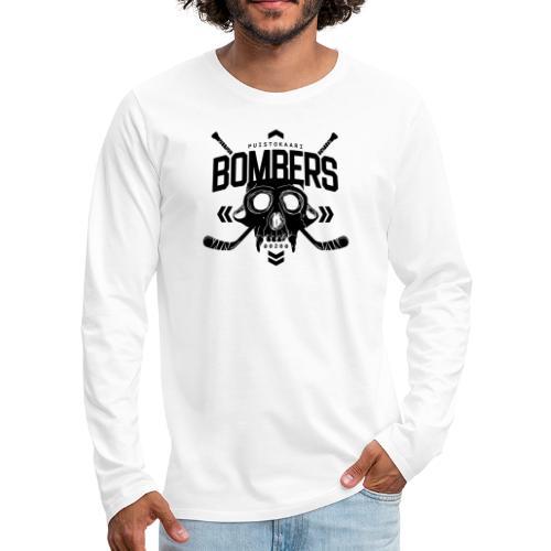 Puistokaari BOMBERS - Miesten premium pitkähihainen t-paita