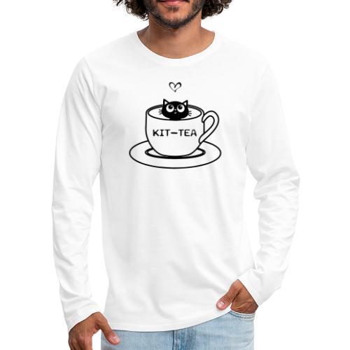 CAT TEA - T-shirt manches longues Premium Homme