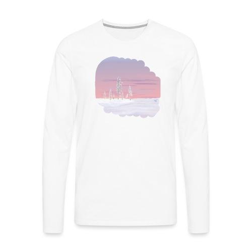 Un printemps précoce - T-shirt manches longues Premium Homme