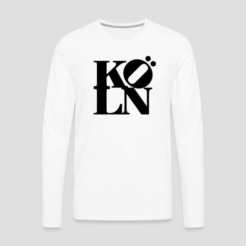 KOELN - Männer Premium Langarmshirt