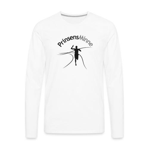 PrinsensMinne logga - Långärmad premium-T-shirt herr