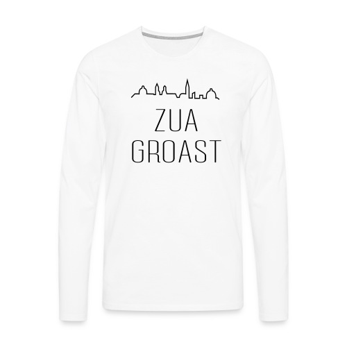 zuagroast - Männer Premium Langarmshirt