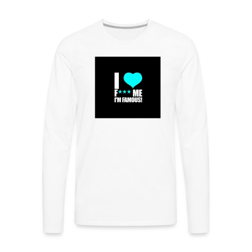 I Love FMIF Badge - T-shirt manches longues Premium Homme