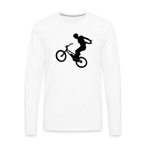 No Hand - T-shirt manches longues Premium Homme