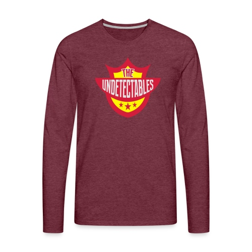 Undetectables voorkant - Mannen Premium shirt met lange mouwen