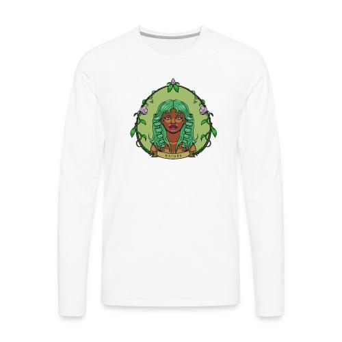 Mother Nature - Camiseta de manga larga premium hombre