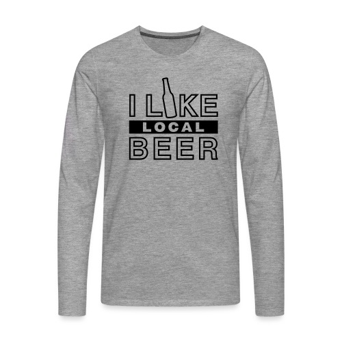 I Like Local Beer (swity) - Männer Premium Langarmshirt