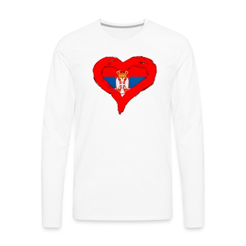 SRBIJA U SRCU - Men's Premium Longsleeve Shirt