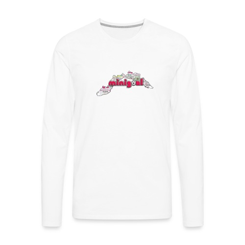 Maglietta Uomo Liguria - Maglietta Premium a manica lunga da uomo