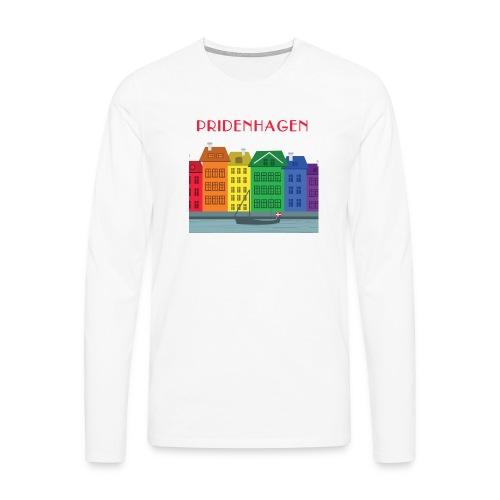 PRIDENHAGEN NYHAVN T-SHIRT - Herre premium T-shirt med lange ærmer