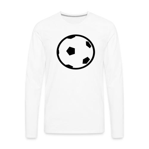 Unterwasser-Rugby Ball - Männer Premium Langarmshirt