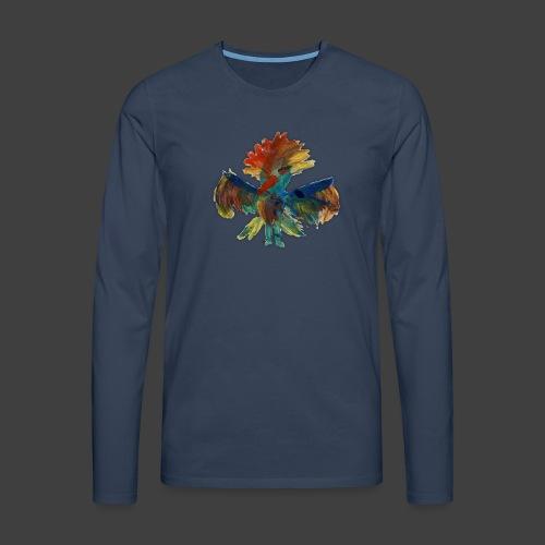 Mayas bird - Men's Premium Longsleeve Shirt