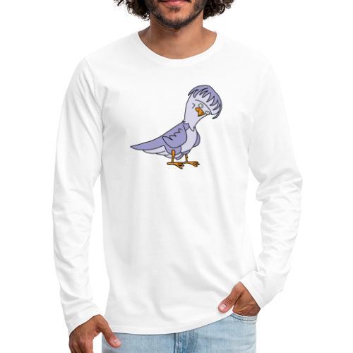 Taube von dodocomics - Männer Premium Langarmshirt