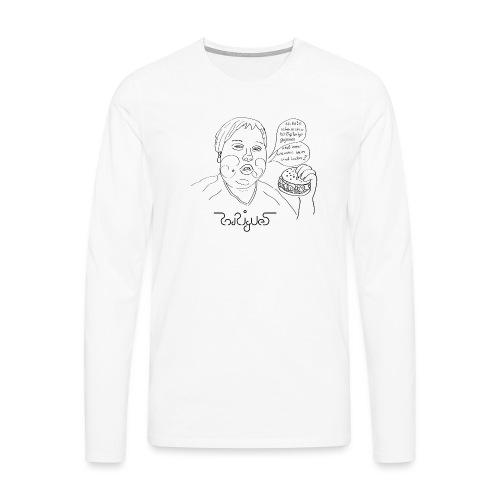 50 Big Tasty - Männer Premium Langarmshirt