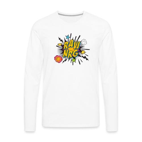 Raw Nrg comic 1 - Men's Premium Longsleeve Shirt