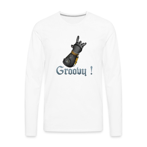 Dungeon Groovy ! - T-shirt manches longues Premium Homme