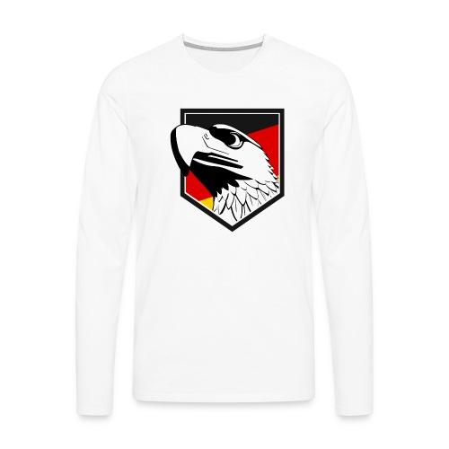 Adler - Männer Premium Langarmshirt