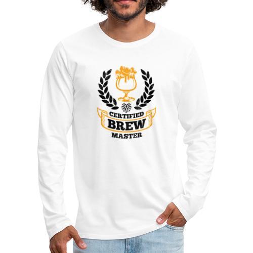 Brewing Master / Brauer Gift Idea - Men's Premium Longsleeve Shirt